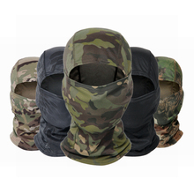 Neck Scarf Head-Warmer Military Balaclava Camo-Bandana Hunting Cycling Skiing Hiking