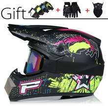 Motorcycle Helmet Casco Off-Road Professional Racing Children Cartoon Route Hors