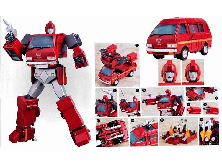 Takara Tomy Transformers Masterpiece MP-27 IRONHIDE G1 figure EXCLUSIVE COIN
