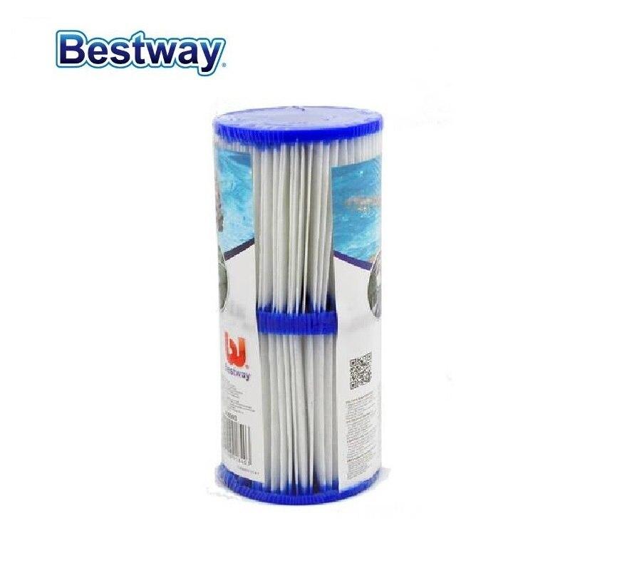 Bestway 58094 Type II Cartridge Filter 1 Pair