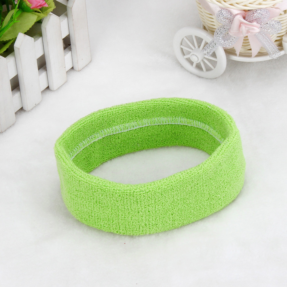 1PC Headband Women/Men Sport Sweat Sweatband High Quality Yoga Gym Stretch Hair Band Headwear Unisex Sports 1111