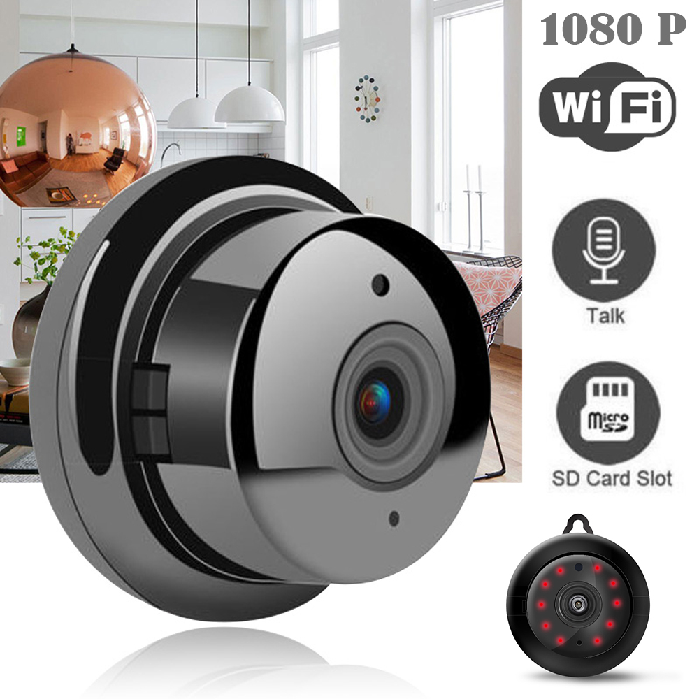 Electronics - Wifi IP Camera HD 1080P Wireless Indoor Camera Night Vision Two Way Detection Baby Monitor V380 Audio Home Security with Stand