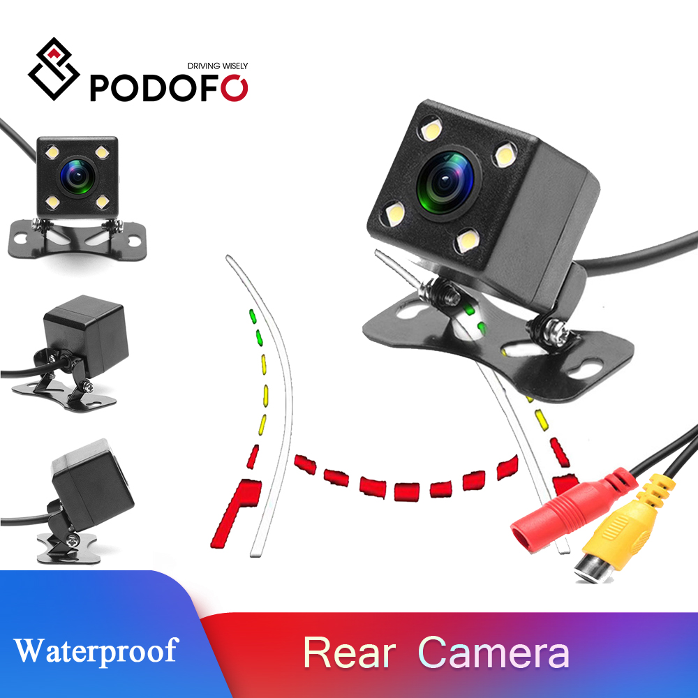 Intelligent Dynamic Trajectory HD 12 LED Car Rear View Camera Night Vision IP67