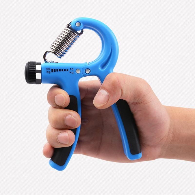 Counting Hand Grip Strengthener Fitness Strength Trainer Adjustable Exerciser NE