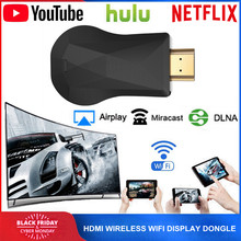 HDMI WiFi Дисплей ключ для YouTube Netflix AirPlay Miracast TV Stick для Google Chromecast 2 3 Chrome Crome Cast Cromecast 2(Китай)