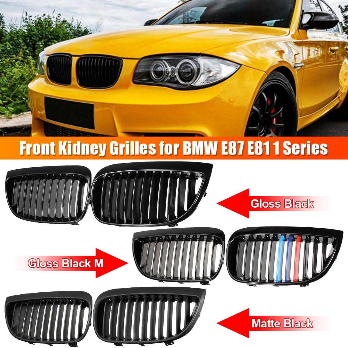 /2011/opaco nero sport Rene griglia anteriore griglie/ E81/E82/E87/E88/LCI 2008/ /Coppia