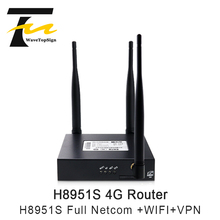 Single-Card Cold-Resistant and Heat-Resistant 4G Industrial-Grade Router H8951S All-Netcom APN Private Network VPDN to Wifi