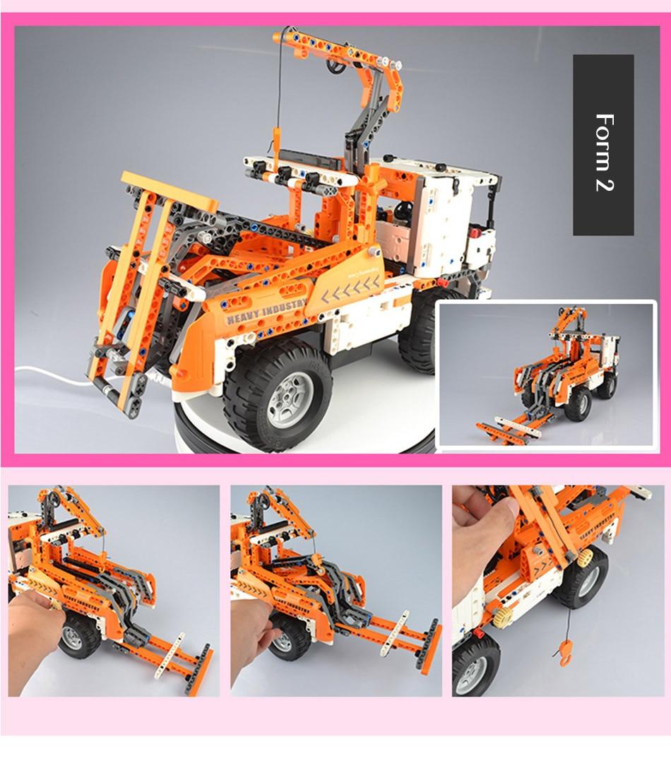 CaDA C51013 Mobile Crane RC Building Block 51