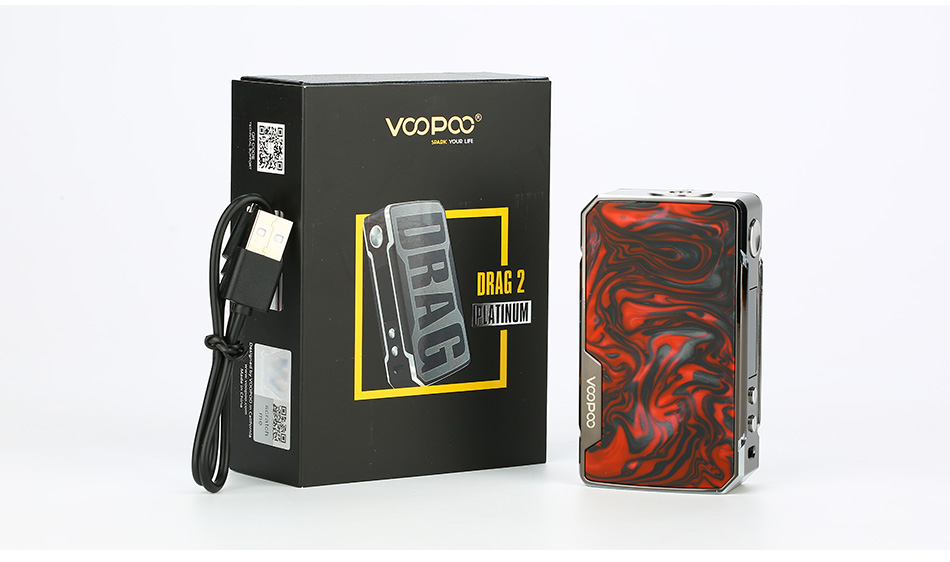 Image result for VOOPOO Drag 2 Platinum 177W TC Box MOD