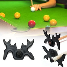 Rod-Accessories Pool-Cue-Stick Snooker Billiards Bridge-Head Black Pole-Rack Frame Cross-Antlers-Rod-Holder