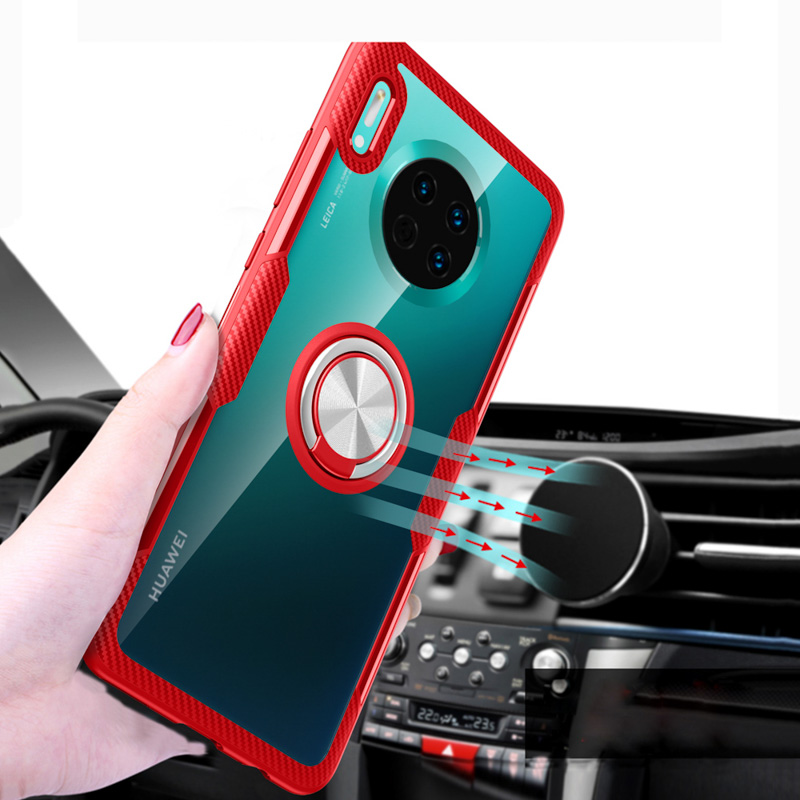 Finger Ring Kickstand Case For Huawei Honor 10 Lite Cases 7X 8X 20i V20 P Smart Plus 2019 Mate 30 Pro P20 P30 5i Nova 5T Cover