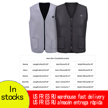 Jacket Heated-Cloth-Jacket Electric-Vest Heating-Pad Body-Warmer Warm-Up Women Mens USB