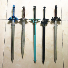 80 см SkySword & SAO Elucidator Sword косплей синий черный/Sting Sword Dark Repulsor & The Gold 72 см The