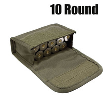 Molle Pouch Cartridge-Holder Shot Ammo Round 12-Gauge/20g Hunting-10 for Magazine
