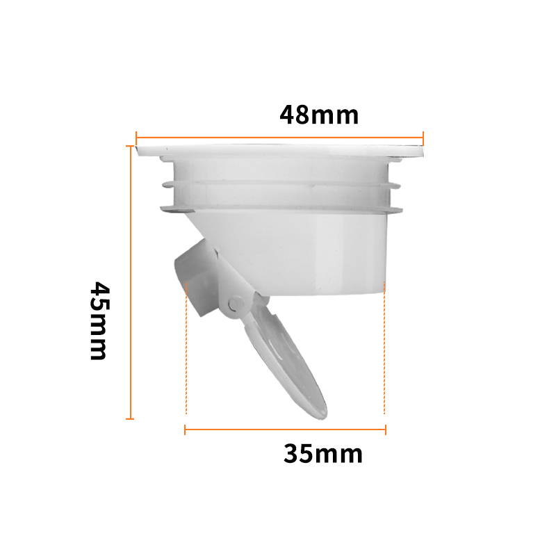 Aisoway Smell Proof Shower Floor Siphon Plug Trap Water Drain Cover Sink Strainer Bathroom Filter Kitchen Tool