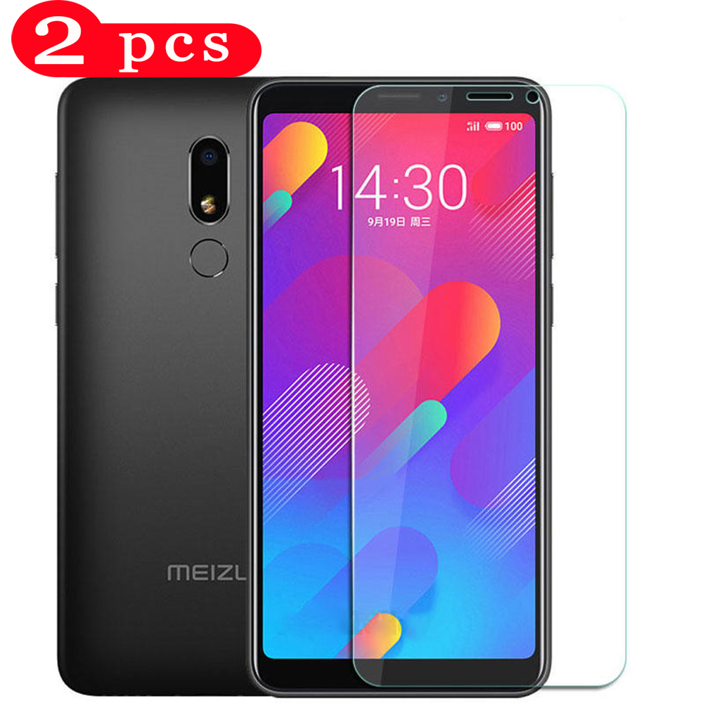 2Pcs smartphone for meizu m5c m5 m5s tempered glass m6s m6t m6 note m8c phone screen protector on the glass protective film title=