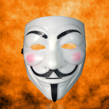 Film Hacker-Mask Guy Fawkes Vendetta Movie Anonymous Halloween Cosplay-V Christmas-Party-Gift