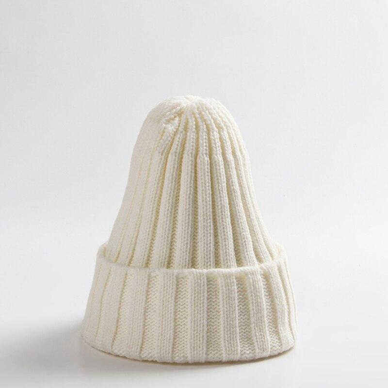 Knitted Kids Beanie Cap Infant Newborn Baby Boy Girl Hat Warm Childrenx Baby Autumn Winter Girls Hat For Kids Toddler Bonnet Cap 14