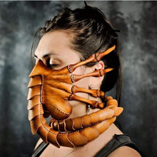 Mask Costume Scorpion-Mask Alien Covenant Halloween Claws Scary Facehugger Insect New