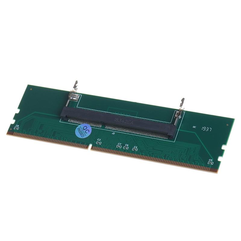 1pc DDR3 204 Pin Laptop SO-DIMM to Desktop DIMM Slot Memory Adapter Supply Tool