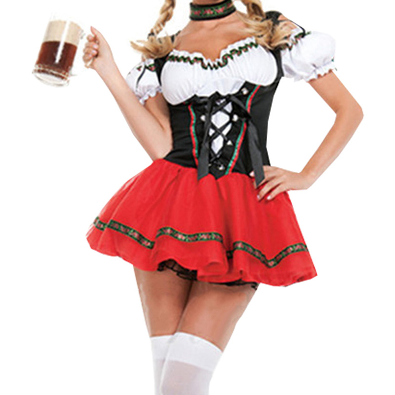 Oktoberfest Cosplay Set Beer Festival Waitress Costumes
