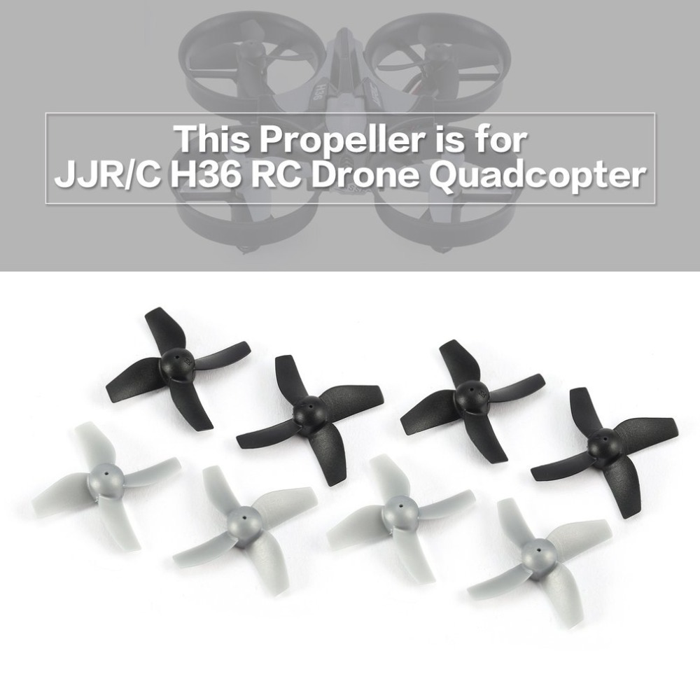 8pcs Original CW/CCW Propeller for JJR/C H36 Drone RC Mini Quadcopter Spare Parts the Drone Propellers Accessories