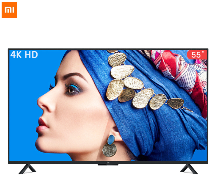 Xiaomi Smart 4A 55 inches 3840*2160 FHD Full 4K HD Screen TV Set HDMI WIFI Ultra-thin 2GB Ram 8GB Rom Game Play Display Dolby