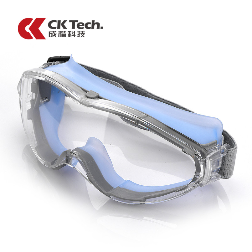 CK Tech.Safety Glasses Anti-shock PC Lens Goggles Anti-splash Anti-fog Windproof Riding Protective Glasses Work Lab Eyewear