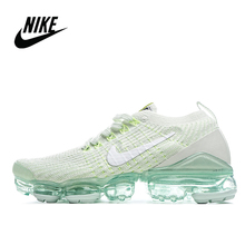 Running-Shoes Vapormax Flyknit Nike Air Women's Cushion Sports AJ6910-300 Atmospheric