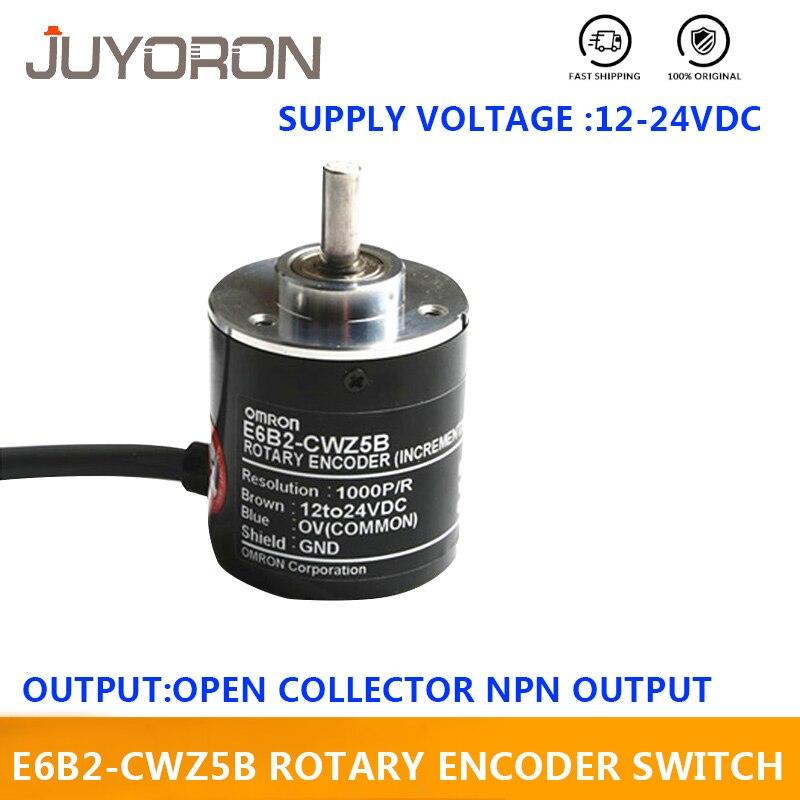 1x OMRON 720P Incremental Rotary Encoder 720p//r 12~24V DC E6B2-CWZ5B PNP