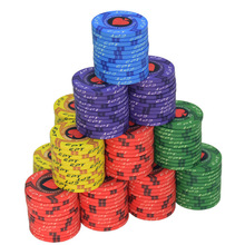 Poker-Chips Casino Texas Ept Ceramic Professional 10pcs/Lot New European