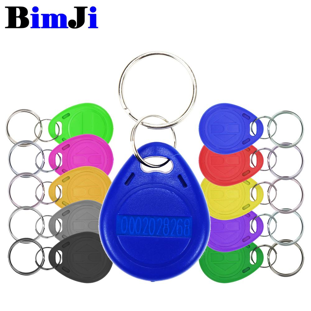 Tag Keyfobs-Tags Rfid-Card Access-Control-Time TK4100 Proximity 100pcs Attendance  title=