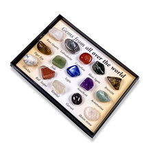 Collector Mineral-Fit Decorations-Size 10-15mm Stone Hobby Best-Gift 8pcs/Box