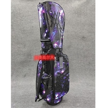 Golf-Bag Caddy Anew Blue Two-Caps Stuff-Stand-Tripod Transparent-Cap Sky Star