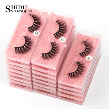 Eyelashes Wholesale 6D Mink Lashes Natural False Eyelashes Long Set faux cils Makeup Wholesale Lashes Bulk Lash Vendors