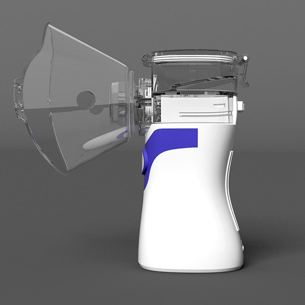 Lamp - Portable Ultrasonic Nebulizer Respirator Humidifier Atomizer silent inhaler nebuliser Adults Children Home Inhaler Machine