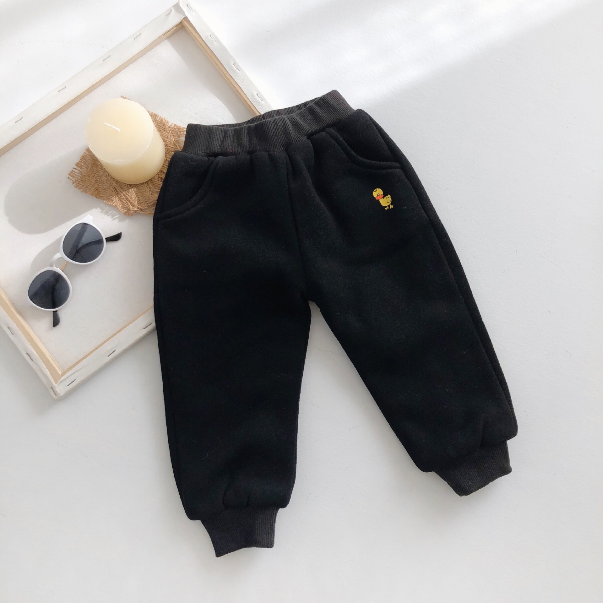 2019 new arrival girls boys pant autumn winter fashion soft kids girls pants 2-7t