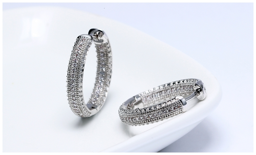 Hoop earrings SE24112 (7)