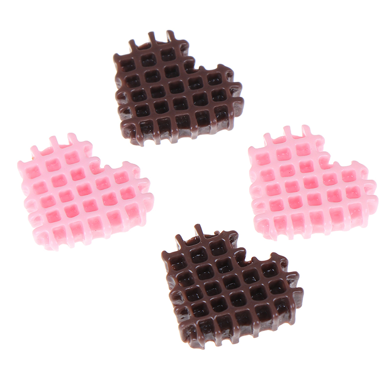 Mini Play Food Cake Biscuit Donut Cake chocolate Miniature Pretend Toy 1/3/5/6/10pcs DollHouse Kitchen Toy Craft DIY Accessories