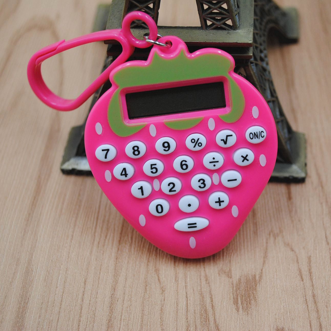 1pc Calculator Practical Cat Shaped Mini Portable Electronic Calculator for Home