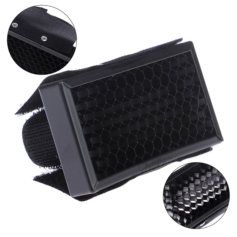 Honeycomb Honey Comb Grid FlashLight Flash Diffuser Softbox Bouncer For Speedlight for Nikon for Canon