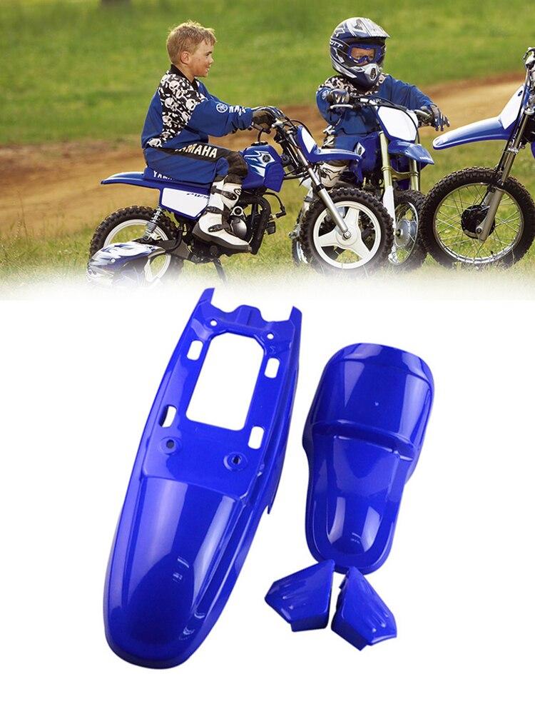 Pit Bike Seat Cover Universal Gripper CRF50 CRF70 CRF110 TTR KLX W Racing YELLOW