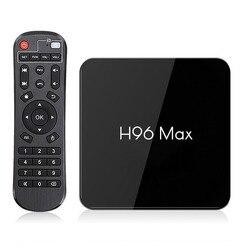 ТВ-приставка H96 MAX X2 Android 9.0, 4 ГБ 64 ГБ, S905X2 1080P H.265 4K, смарт ТВ-бокс с поддержкой Google Store, Netflix и Youtube, 2 ГБ 16 ГБ