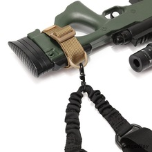 Belt Sling-Adapter Hunting-Accessories Buttstock Airsoft Tactical Gun Outdoor