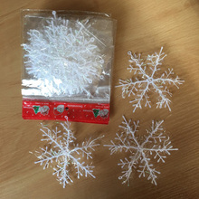 Christmas-Tree-Decor Snowflake Artificial Home-Noel for 30pcs 11cm