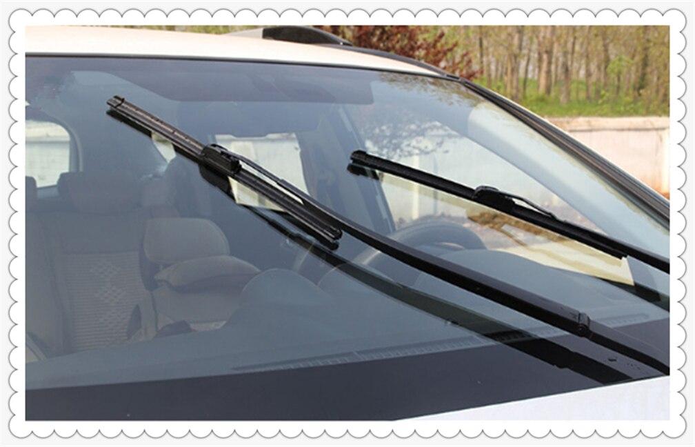 1PCS car windshield wiper blade U-shaped frameless without bracket for Nissan NISS LIVINA MARCH X-TRAIL TIIDA