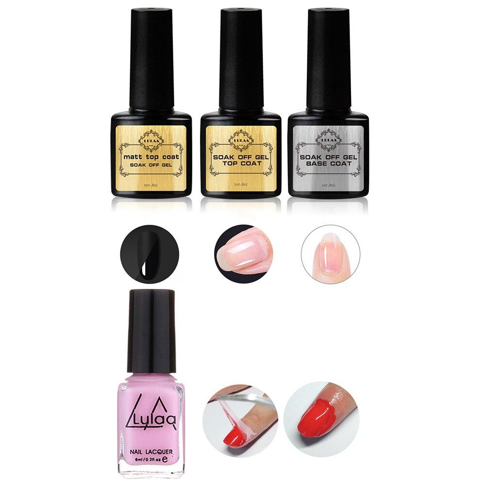 Cosmetics - Nail Set UV LED Lamp Dryer With 33Pcs Nail Gel Polish Kit Soak Off Manicure Tools Set For Nail Tools