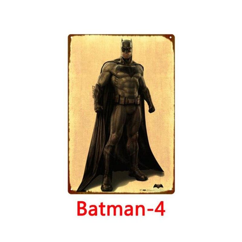 Dark Knight Why So Serious Signe Plaque Métal Rétro Vintage Pub Bar Cadeau Fantaisie