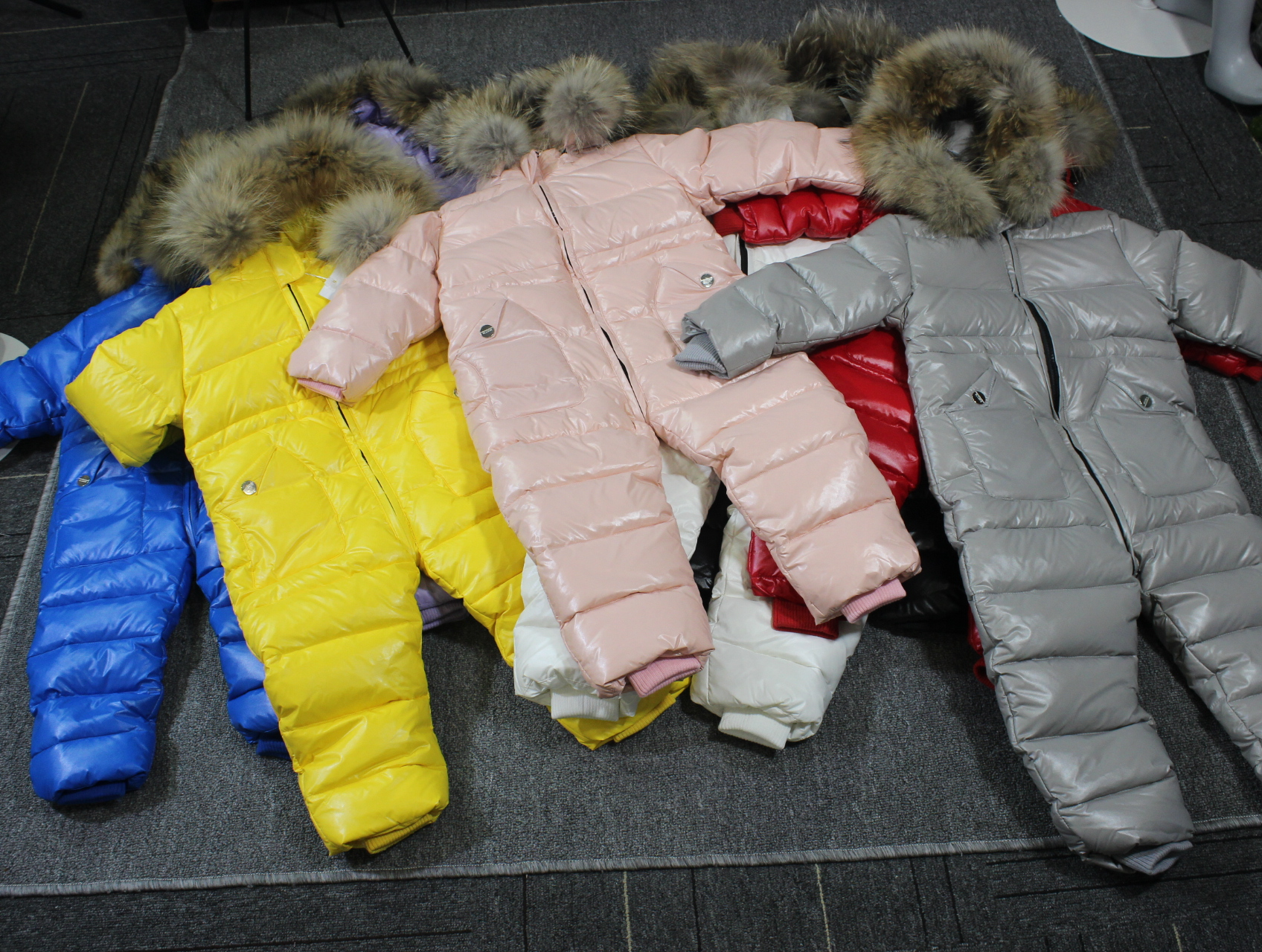 Cheap degree Russian winter children's clothing down jacket boys outerwear coats , thicken Waterproof snowsuits  Girls  Clothing