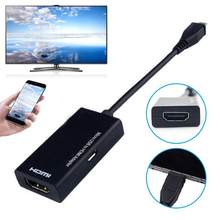 Micro USB к HDMI 1080P HD аудио-видео кабель для HDTV конвертеры адаптеры для samsung huawei Android Phone Tablet(China)